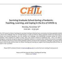 Surviving Graduate School during a Pandemic: Teaching, Learning, and Coping in the Era of COVID-19