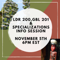 LDR 200, GBL 201 & Specializations Info Session