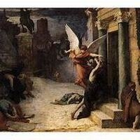 Peste a Rome (1869) by Jules-Elie Delaunay, Musee d'Orsay