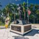 Flesberg Memorial Statue at FIU