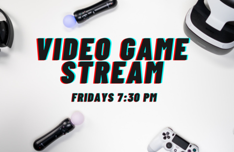PTB Presents: Video Game Stream