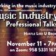 Music Industry Professional Talk: Featuring the Hustle Like U Broke Podcast