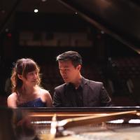 Tiffany Fung and Declan Tse at the piano