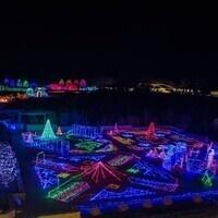 Volunteer at Powell Gardens Festival of Lights: Enchantment!