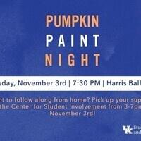 Pumpkin Paint Night