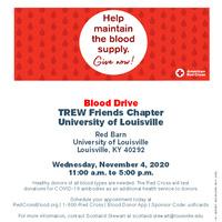 Trew Friends U of L Chapter Hosting Red Cross Blood Drive