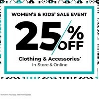 Women and Kids' Sale - NIU Bookstore