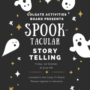 Spook-Tacular Story Telling
