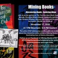 Mining Books Event Flyer
