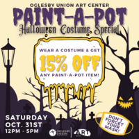 Paint-A-Pot Halloween Costume Special