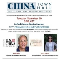 2020 CHINA Town Hall at DePaul University