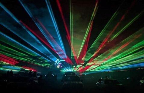 Cabin Fever Laser Light Show