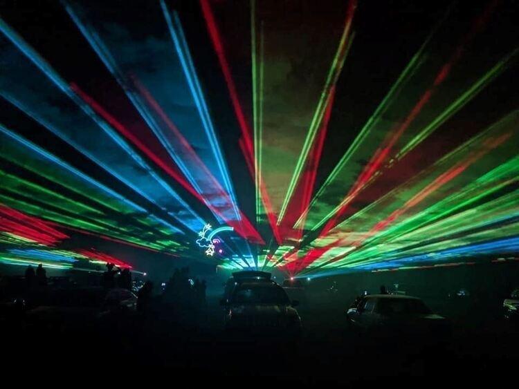Cabin Fever Laser Light Show - Explore Gwinnett Events