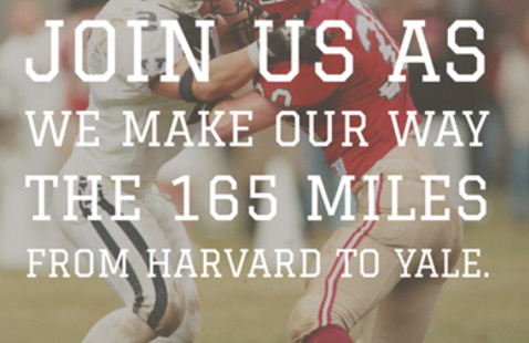 Harvard to Yale Mileage Challenge