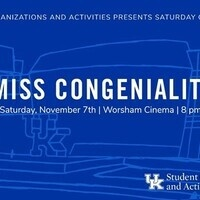 SOA's Saturday Cinema Series: Miss Congeniality