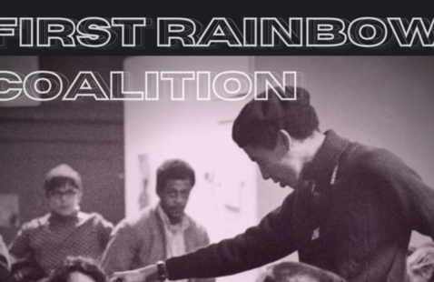 First Rainbow Coalition poster