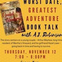 Book Talk: Worst Date, Greatest Adventure