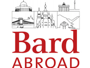 Photo depicts the Bard Abroad logo