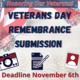 Veterans Day Remembrance Submission