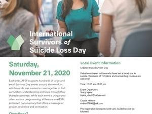 International Survivors of Suicide Loss Day