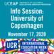 UCEAP Info Session on University of Copenhagen