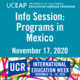 UCEAP Info Session: Programs in Mexico