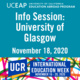 UCEAP Info Session: University of Glasgow
