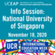 UCEAP Info Session on National University of Singapore