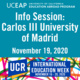 UCEAP Info Session on Carlos III University of Madrid