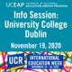 UCEAP Info Session on University College Dublin