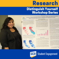 UResearch Distinguish Yourself Workshop Series