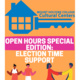 The Unity Center Open Hours Special Edition: Election Time Support