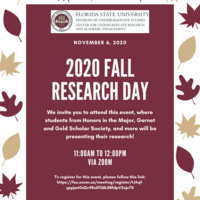 2020 Fall Research Day