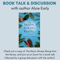 Book Talk & Discussion: The Moon Always Rising