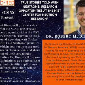 """True Stories told with Neutrons: Research Opportunities at the NIST Center for  Neutron Research"""