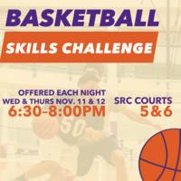 Intramural Basketball Skills Challenge