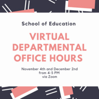 School of Education Office Hour