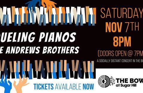 The Andrews Brothers Dueling Pianos at The Bowl