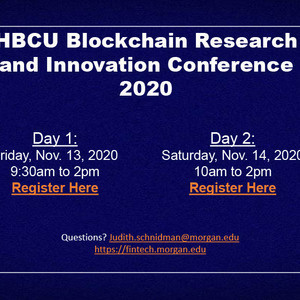 HBCU Blockchain Research and Innovation Conference