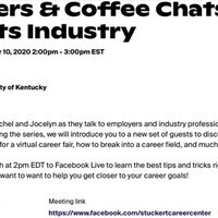 Careers and Coffee Chats: Sports Industry