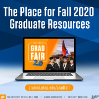 GradFair 2.0: The Place for Fall 2020 Graduate Resources