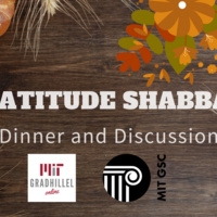 Gratitude Shabbat Dinner and Discussion