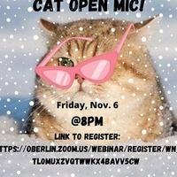 Cat in The Cream Virtual Open Mic