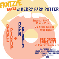 Fantzye Bagels Pic-Up & Merry Farm Pottery Open House