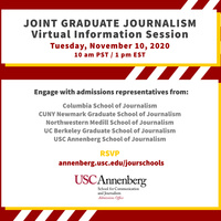 Joint Graduate Journalism Session