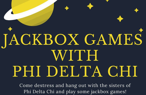 Jackbox Games with Phi Delta Chi