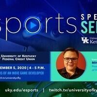 Esports Speaker Series With Michael Hartman