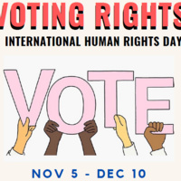 International Human Rights Day: Virtual Interactive Exhibit on Voting Rights