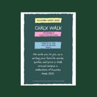 Kuumba Week 2020: Chalk Walk