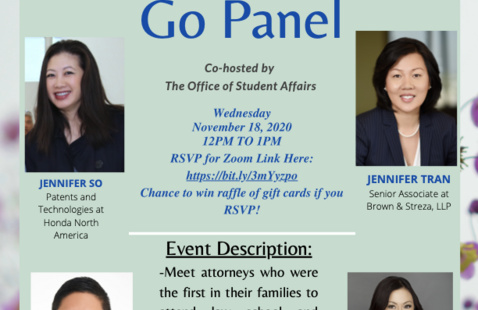 APALSA presents: First to Go Panel